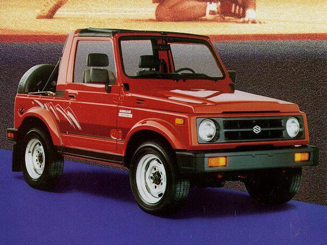 Фото Samuri 2dr SUV shown Suzuki Samurai
