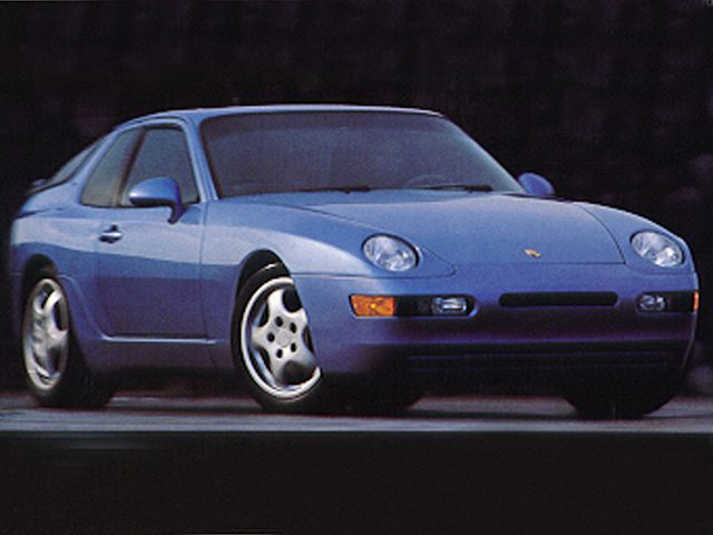 Фото 968 2dr coupe shown Porsche 968