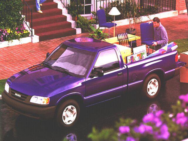Фото Hombre Regular Cab S shown Isuzu Hombre
