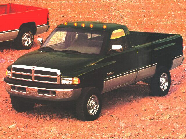 Фото Ram 2500 Regular Cab shown Dodge Ram2500