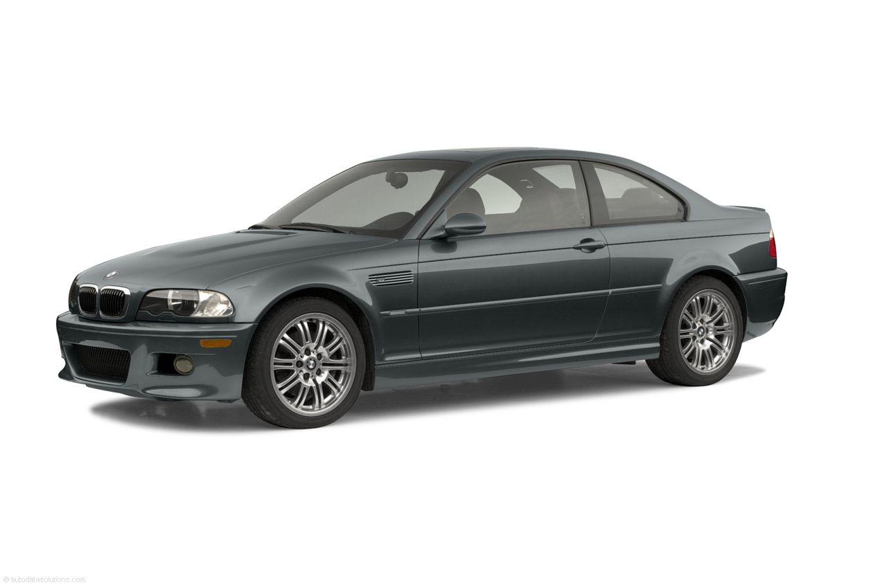 Фото 2002 BMW M3 2dr Coupe shown BMW M3