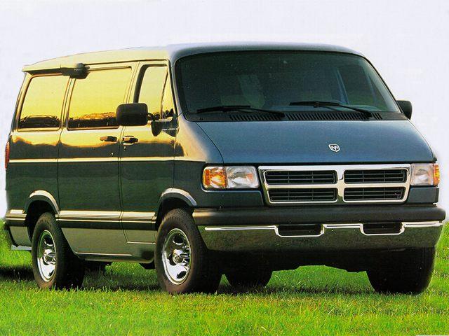 Фото Ram Van 2500 shown Dodge RamVan1500