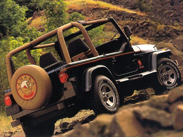 Фото Wrangler 2dr 4x4 shown Jeep Wrangler