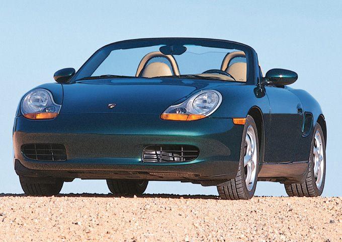 Фото Boxster 2dr Convertible Base shown Porsche Boxster