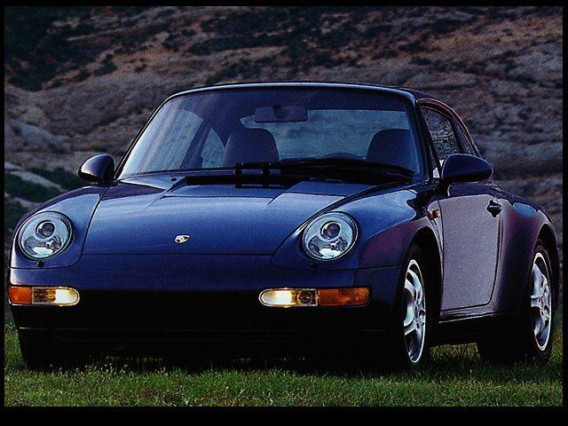 Фото 911 2dr Coupe shown Porsche 911