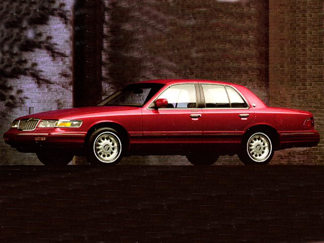 Фото Grand Marquis 4dr Sedan shown Mercury GrandMarquis