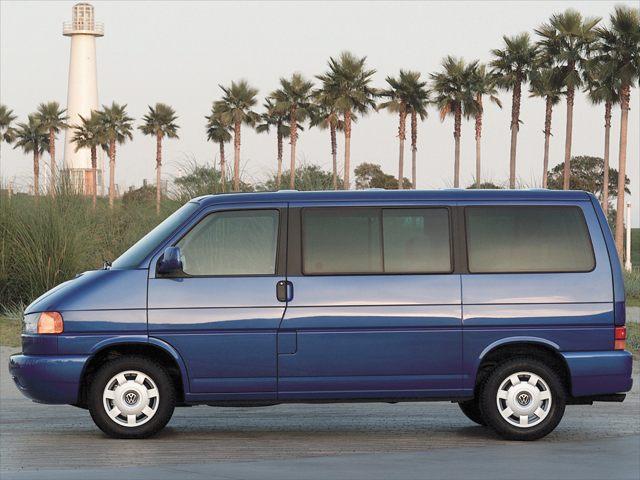 Фото EuroVan Passenger Van shown Volkswagen EuroVan