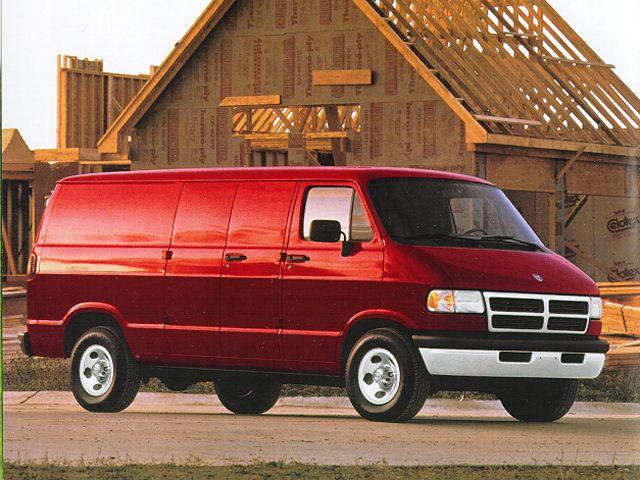 Фото Ram 2500/3500 Cargo Van shown Dodge RamVan2500