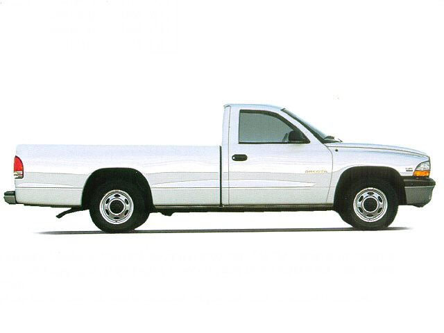 Фото Dakota Regular Cab Base shown Dodge Dakota