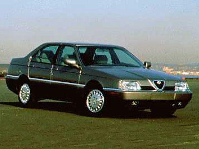 Фото 164 4dr Sedan LS shown AlfaRomeo 164