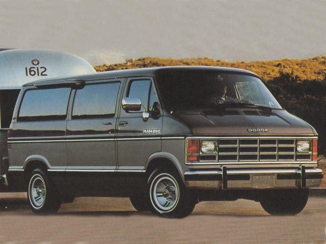 Фото Ram van 150 shown Dodge B150Ram