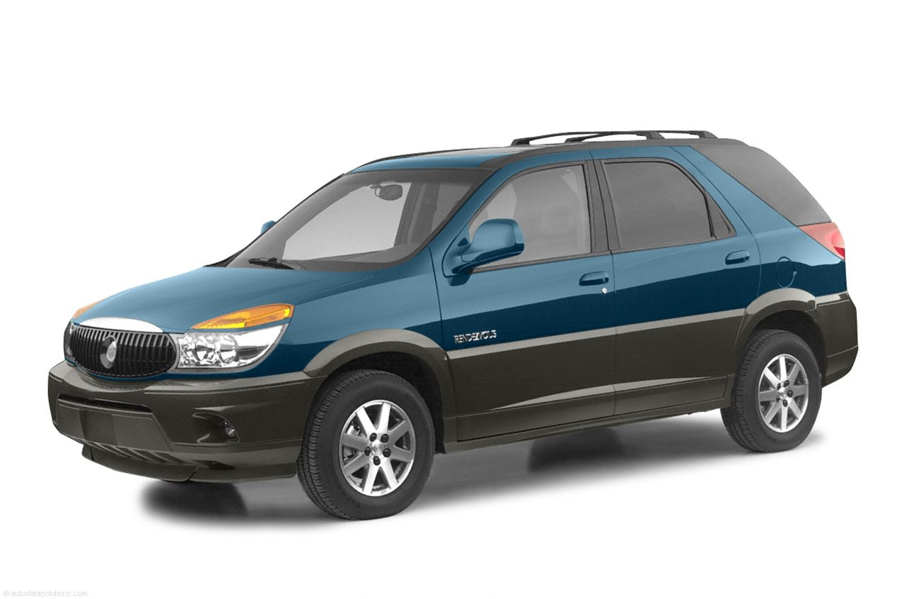 Фото 2002 Buick Rendezvous 4dr AWD shown Buick Rendezvous