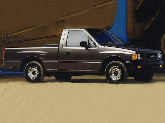 Фото Pick-up Regular cab shown Isuzu Pickup