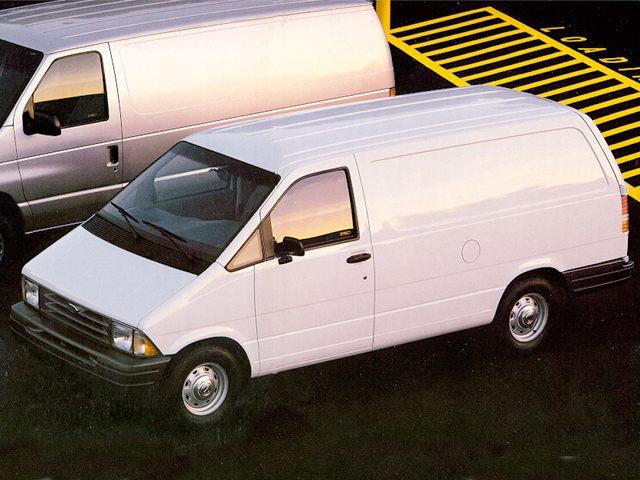Фото Aerostar 3dr Cargo Van shown Ford Aerostar