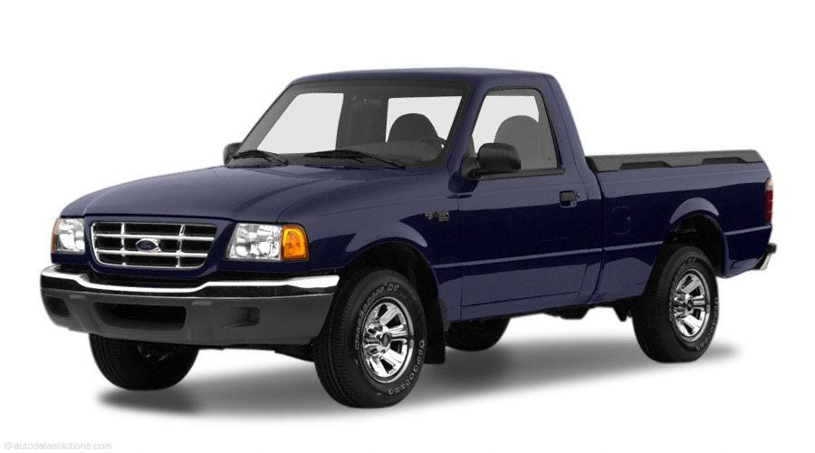 Фото 2001 Ford Ranger 2dr 4x2 Regular Cab Styleside 6 box 111.6 WB shown Ford Ranger