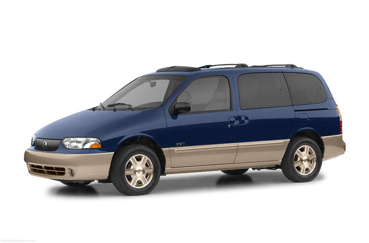 Фото 2002 Mercury Villager Passenger Van shown Mercury Villager
