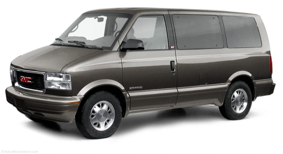 Фото 2001 GMC Safari RWD Passenger Van shown GMC Safari