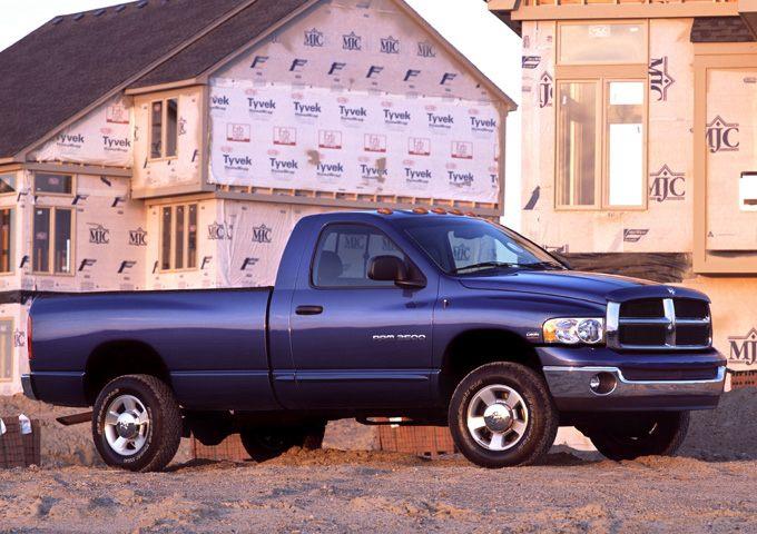 Фото Ram 2500 Regular Cab shown Dodge Ram2500