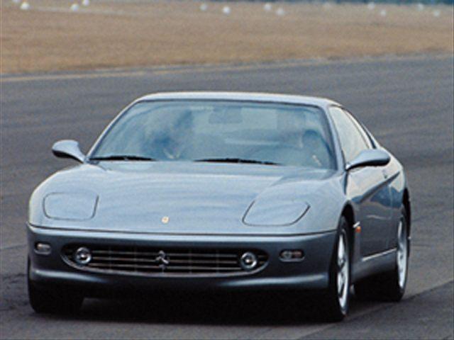 Фото Ferrari 456M 2dr Coupe shown Ferrari 456M