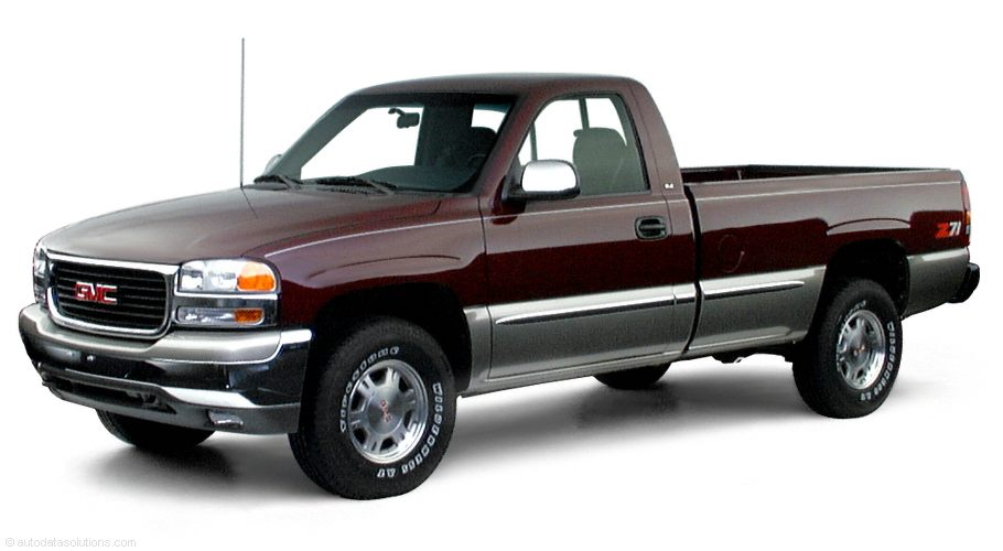 Фото 2001 GMC Sierra 1500 4x4 Regular Cab 8 box 133 WB shown GMC Sierra2500