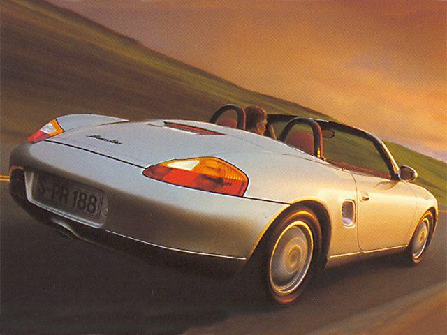 Фото Boxster 2dr Convertible shown Porsche Boxster