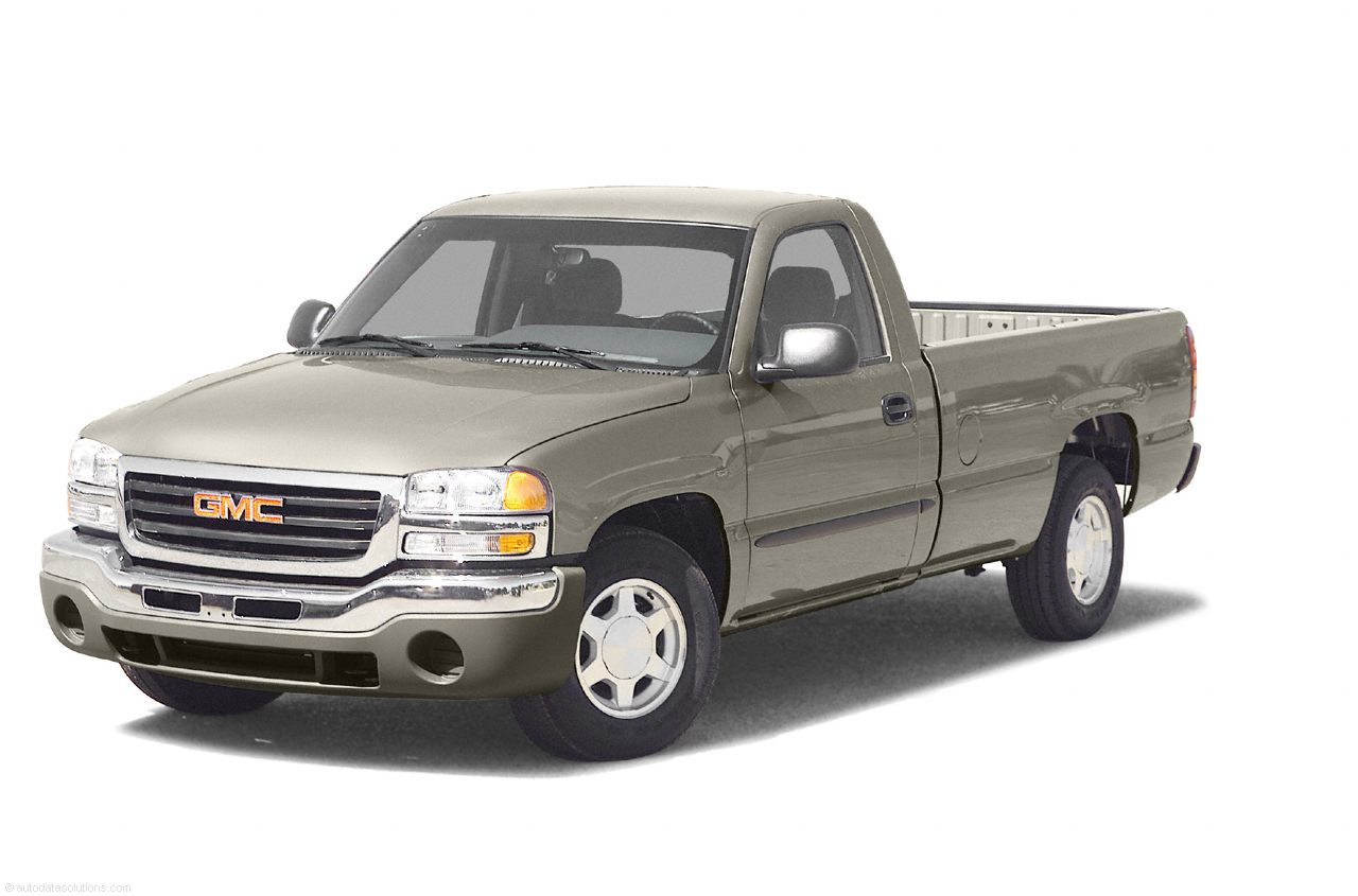 Фото 2003 GMC Sierra 1500 4x2 Regular Cab 8 box 133 WB shown GMC Sierra2500