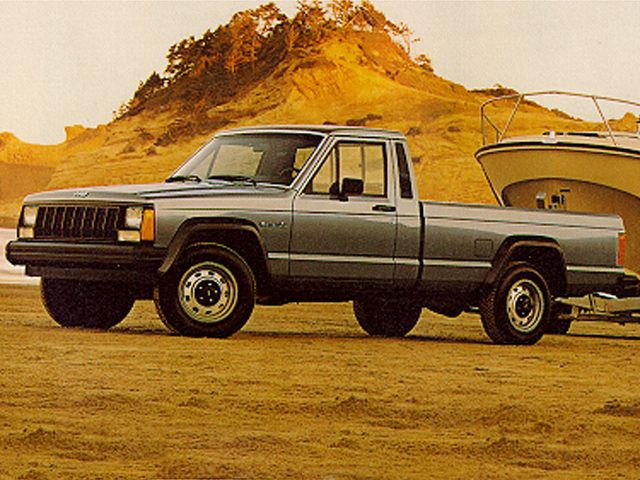 Фото Comache 2wd Reg Cab shown Jeep Comanche