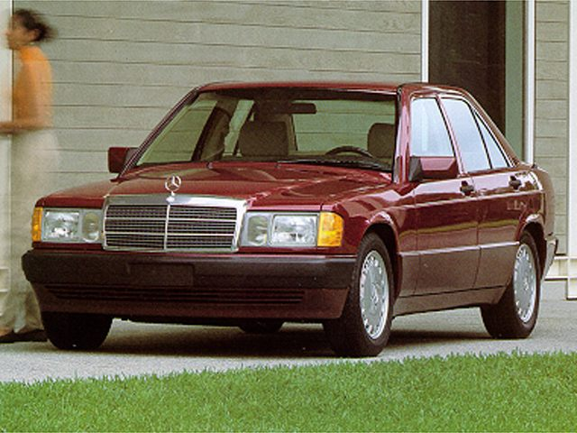 Фото 190e 4dr Sedan shown MercedesBenz 190