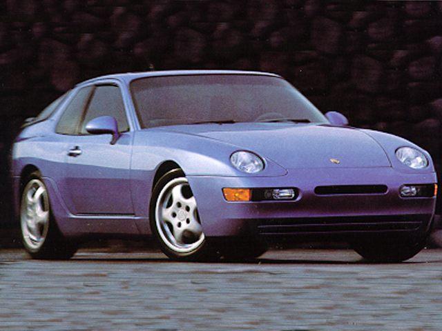 Фото 968 2dr Coupe shown Porsche 968