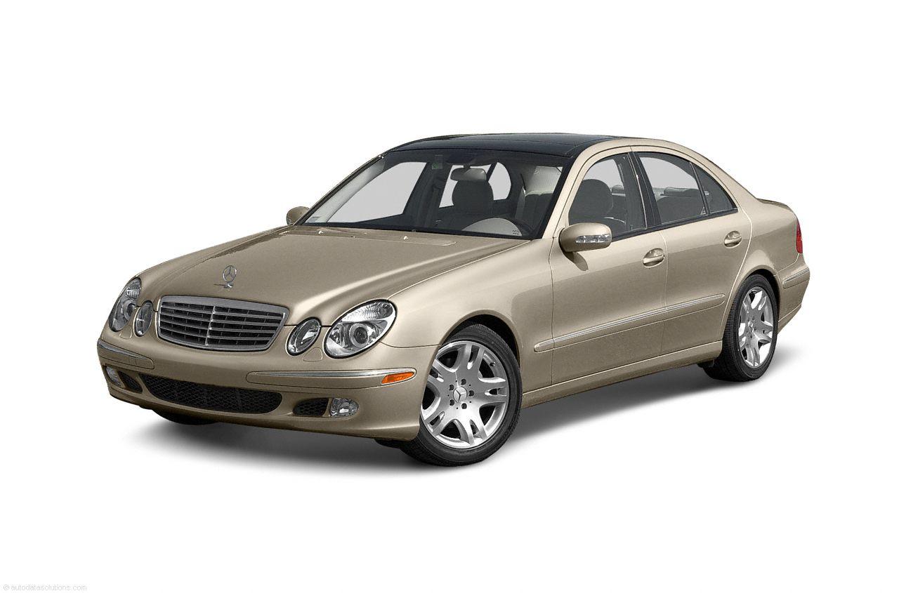 Фото 2003 Mercedes-Benz E500 4dr Sedan shown MercedesBenz EClass
