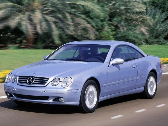 Фото CL500 2dr Coupe shown MercedesBenz CLClass