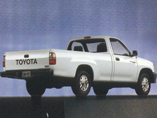 Фото T100 Regular Cab shown Toyota T100