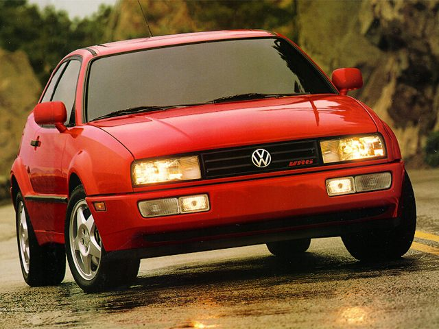 Фото Corrado 2dr Coupe shown Volkswagen Corrado