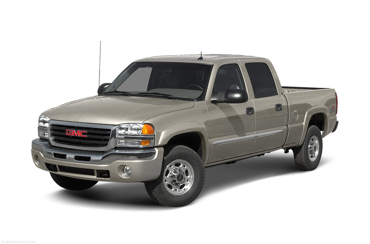 Фото 2003 GMC Sierra 1500HD 4x4 Crew Cab 6.6 box 153 WB shown GMC Sierra1500HD