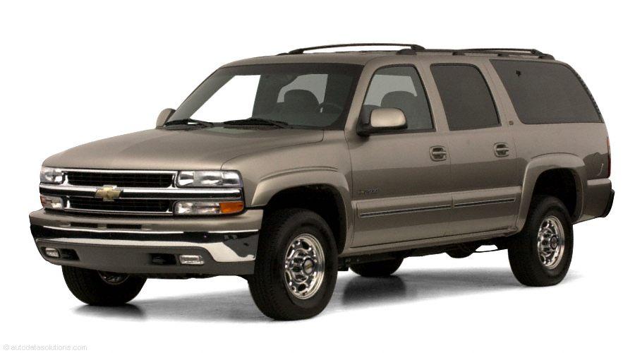 Фото 2001 Chevrolet Suburban 2500 4dr 4x4 shown Chevrolet Suburban2500